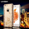 Phone Case For iPhone 7 7Plus 5 5s 6 6s 6Plus 6s Plus Case Luxury Bling Diamond Electroplate Soft TPU Phone Case Back Cover Bags