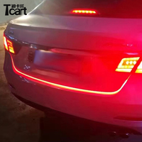 Tcart For Honda city civic crv Flexible LED Car Tailgate Light Bar Red and blue Running/Brake/Reverse/Signal/Rear Strip Light