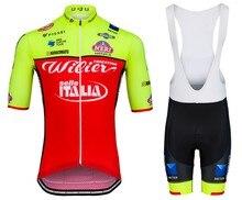 2018 Wilier Лето Велоспорт Джерси нагрудник набор горный велосипед одежда MTB велосипедная одежда Maillot Ropa Ciclismo мужчины Велоспорт Комплект