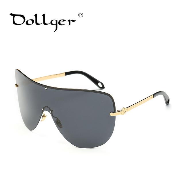 Dollger goggle polarized óculos de sol do desenhador do vintage único moda super quadro de inverno à prova de vento óculos de sol frescos óculos s1328