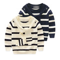 turtleneck sweater boys 2017 new fashion baby boy clothes autumn/winter stripe kids turtleneck knit sweater child boys cardigan