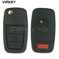 Remotekey 92252257 Remote flip car key for Holden VE Commodore 2 button with horn ID46 chip 434 mhz GM45 key blade