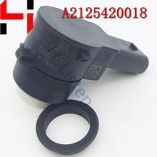 (4pcs) Pack PDC Parking Distance Control Sensors For M ercedes C300 E500 S400 SLK250 ML350 ML550 ML63 AMG 2125420018 A2125420018