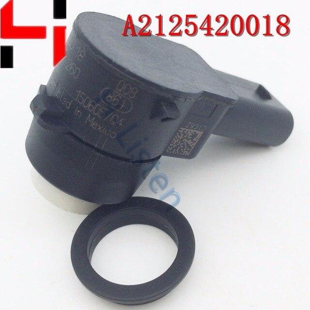 (4 יחידות) חבילה PDC חיישני בקרת מרחק חניה עבור C300 E500 SLK250 ML350 ML550 S400 AMG ML63 2125420018 A2125420018