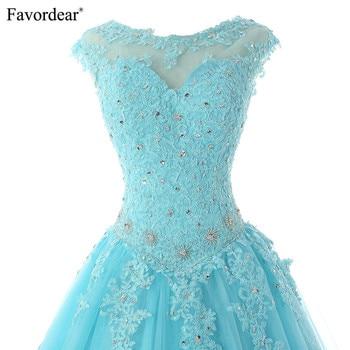 14611f20f55 Favordear 2019 Quinceanera Beading Sweet 16 Dress Vestidos De 15 ...