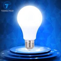 TRANSCTEGO White Led Bulb Energy Saving Bulbs Light Lamp Thermal Plastic Aluminum Cooling Spotlight E27 Screw