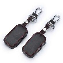 Leather Key Cover For Starline E90 E91 E60 E61 E62 LCD Remote Control Only Two Way Car
