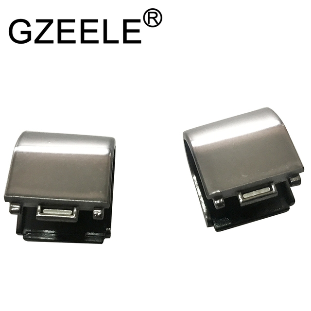 GZEELE New LCD Hinge cover L+R for Lenovo S300 S310 S400 S405 S410 S415 S40-70 hinges cover silver or black Left &Right no touch