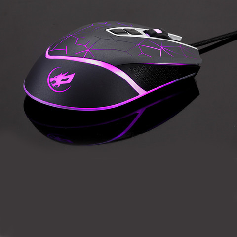 Brand Mouse Durable Gaming Mouse 7 Color LED 3200 DPI 7 Button Wired Macro Definition Programming Gaming Mouse Mice Multan