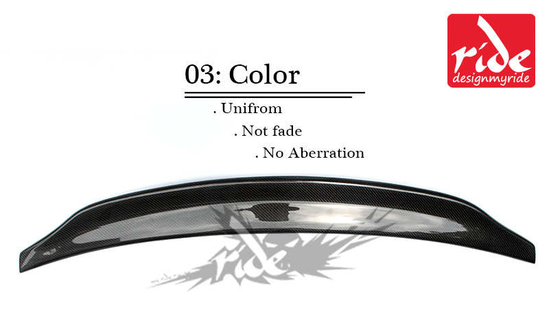 Carbon Fiber Rear Trunk Boot Lip Spoiler For Audi A4 A4a A4Q Coupe standard 2013 16 A4 B8 5 Belgium Style Boot Lip wing Spoiler in Spoilers Wings from Automobiles Motorcycles