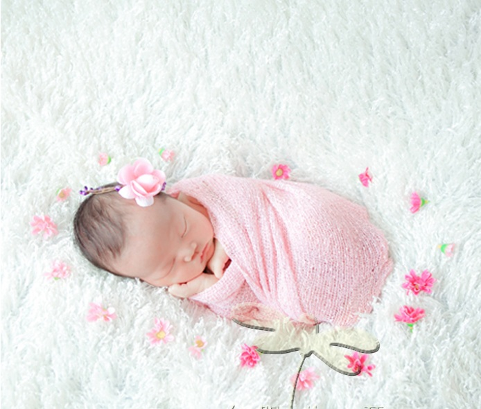 20 pieces lot 40cm x 150cm newborn wraps knit stretch wrap baby wrap newborn swaddle blanket cocoon photography props in blanket swaddling from mother
