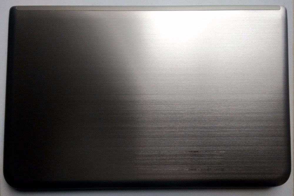 Nuovo per Toshiba Satellite P50t-A cover posteriore per laptop lcd back cover A shell H0000560140 fit touchscreen silver
