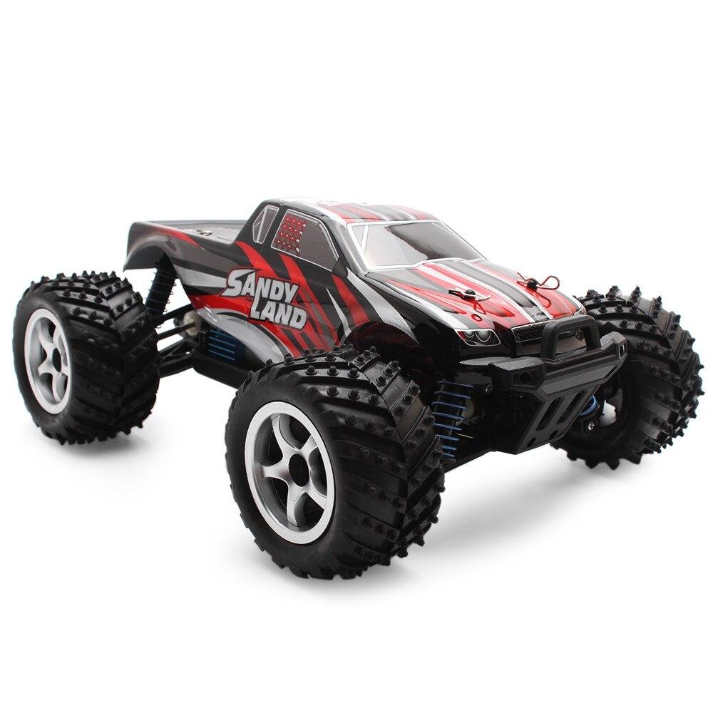 Voiture RC 4WD 1:18 voiture de course RC 40 km/h 2.4 GHz contrôle proportionnel complet frein conduite voitures Bigfoot télécommande jouets RTR