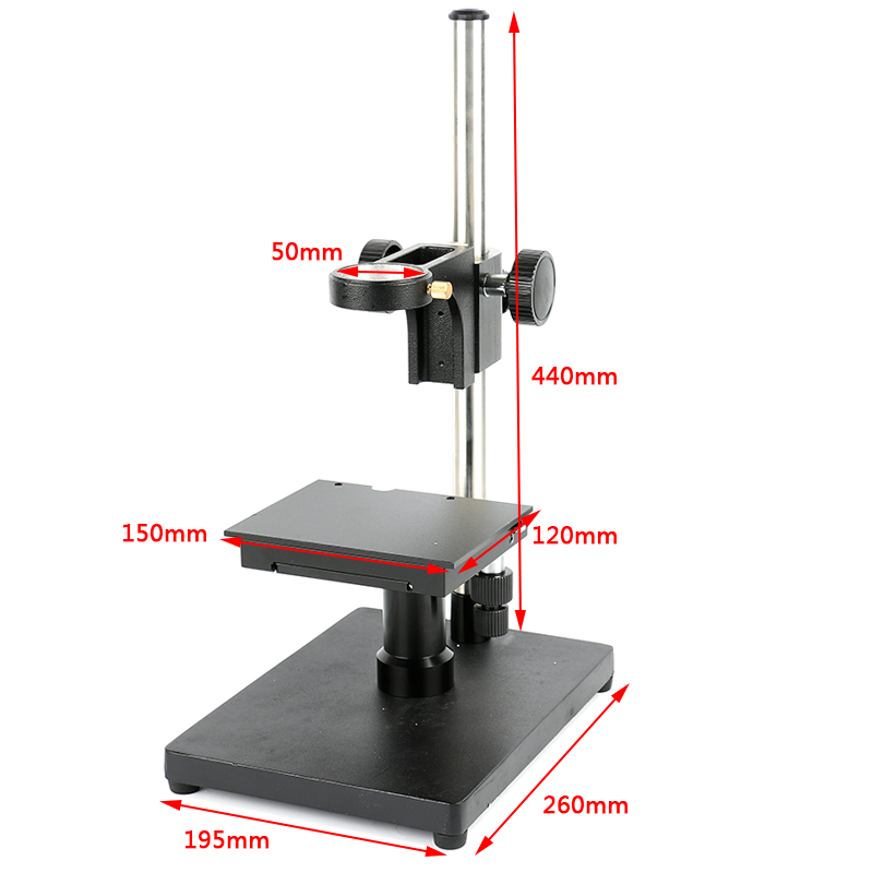 Лаборатория промышленность C крепление видео микроскоп Камера X Y этап регулируемый Бум большой стерео Arm настольная подставка держатель 50 м