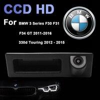 R Car Intelligent Trajectory Tracks Trunk Handle Rear View Camera For BMW X1 X3 X4 X5 F30 F31 F34 F07 F10 F11 F25 F26 E84
