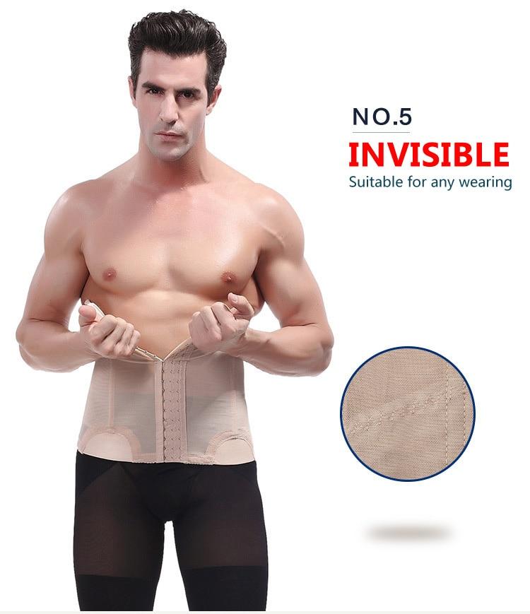 fc46ee96dd8 Item Name Men Tights Belt Corset Man Girdle Belly Fat Belt Compression  Waist Trainer Mens Slimming Male Trimmer Belt size 8 9 11 13. 12