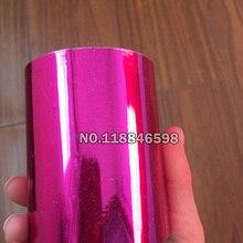 Розовая красная Горячая фольга бумага горячего тиснения коробка/пластик/ППК/ПВХ/ПП Материал 8 см x 120 м/лот