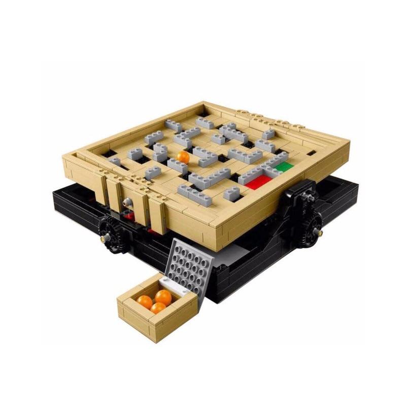 New 39000 769Pcs IDEAS Series The Creative Marbles Maze Model Building Blocks Bricks Toys Compatible For MOC Blocks 21305 16023 model 16024 534pcs the big bang set building blocks figure bricks toys for children compatible legoe ideas series 21302