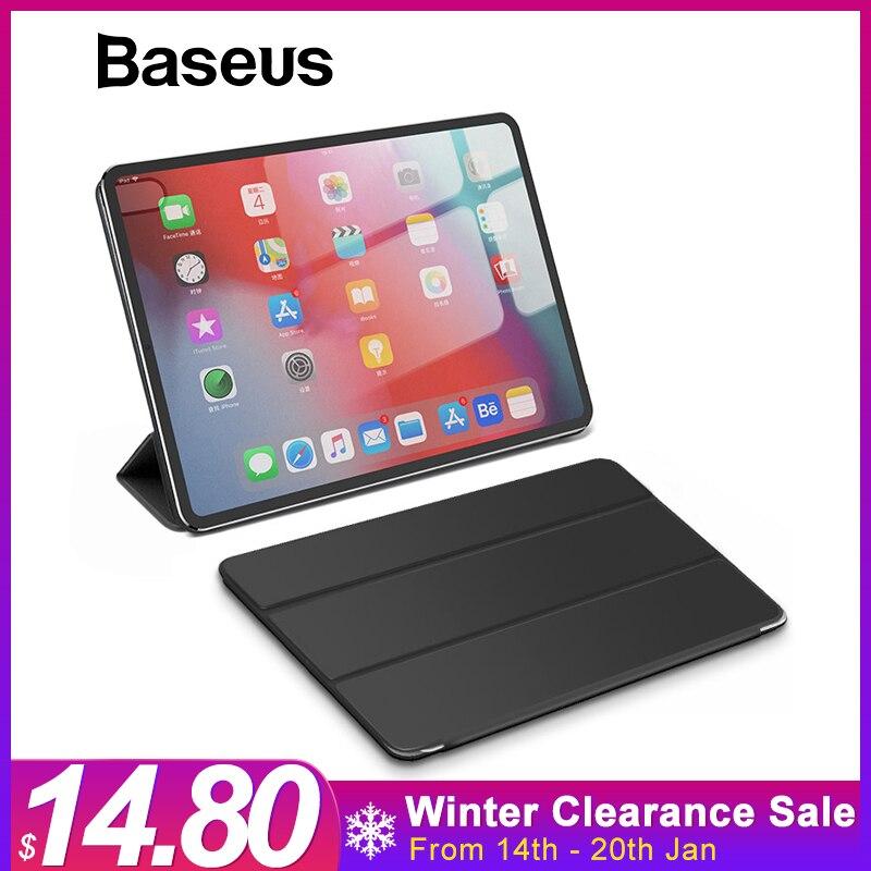 Baseus inteligente caso de Folio para 12,9 iPad Pro 2018 caso magnético Auto sueño caso para Apple iPad 2018 para 11 iPad Pro