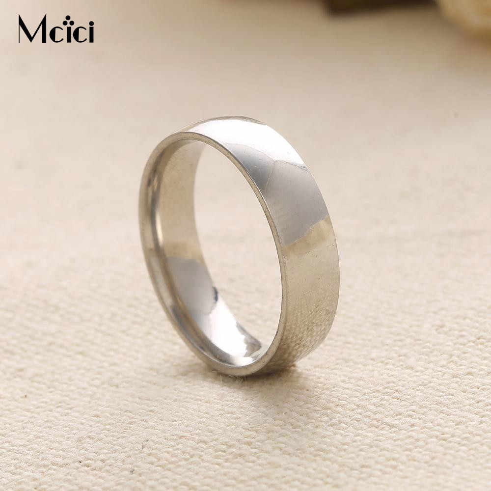 Charm Gold-Color Ring For Men Women Wedding Bands Rings For Lovers' Gift Couple Ring