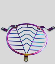 304 Stainless Steel Motorcycle Headlight Grill Cover Side Mount Bracket Light Lampshade for Suzuki DL250
