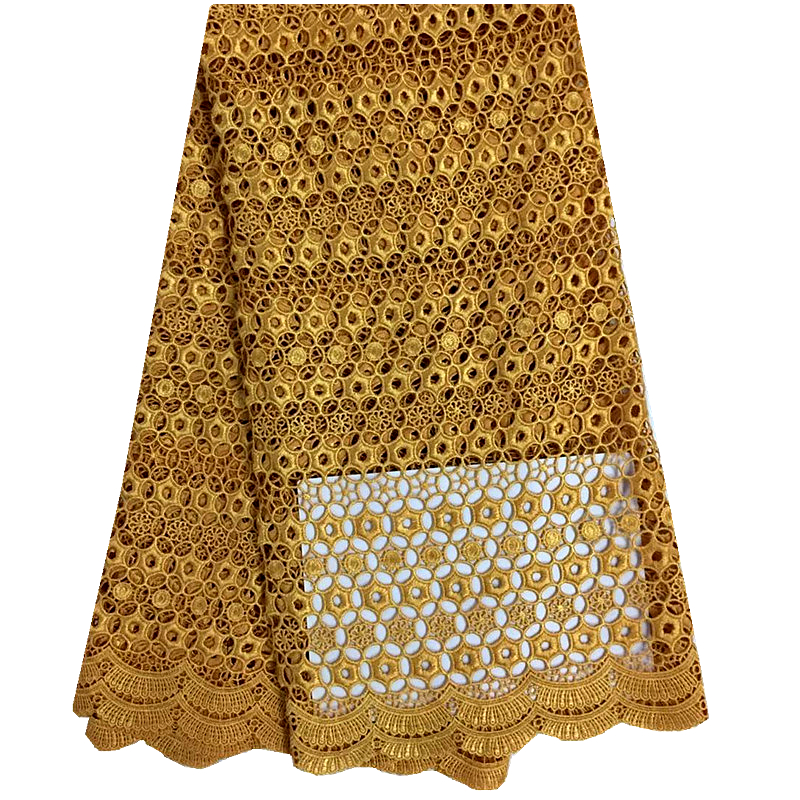 African Swiss Voile Lace High Quality Mesh Lace Fabric Free Shipping African French Lace Fabric Gold