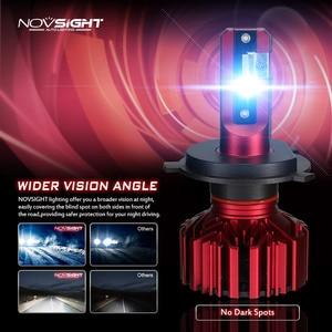 NOVSIGHT мини Автомобильные фары H7 светодиодный H4 светодиодный H1 h3 H8 H11 HB3 9005 HB4 9006 автомобильная лампа 60 Вт 10000LM Автомобильные фары 6000K