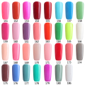 Colors 151-180 Soak Off UV Gel Nail Polish Wholesale Price Gel Nails Lacquers Gel Colors Manicure Top Base Coat Free Tip Guides