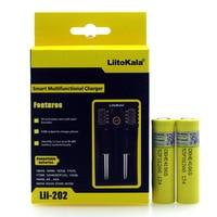 2PCS Liitokala HE4 20a 18650 3 7V 2500 High Capacity Rechargeable MAh Battery For Electronic Cigarette