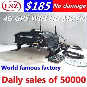 4-способ Автомобильный видеорегистратор MDVR 4 г сети gps WI-FI Поддержка функции Английский Корейский Японский Русский и так далее и язык развит