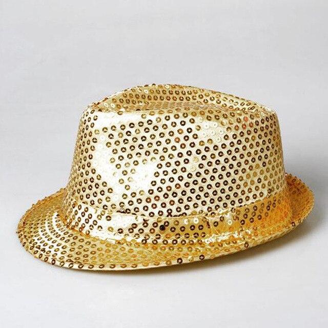 Новый Стиль красочные фонари Фонари Новинка Желтый Блестки Ковбой Танцы LED светоизлучающих Hat