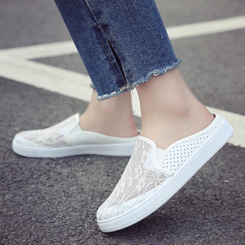 Women's Flats Shoe Embroidery Female