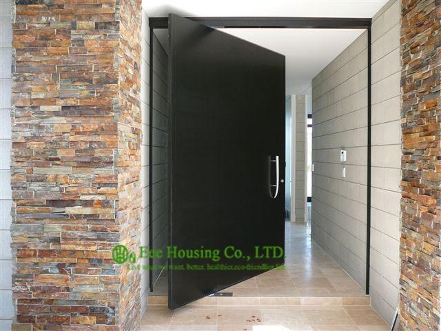 Solid Mahogany Wood Entry Pivot Door,Main Door Designs,Lobby Entrance Door,Villa Entry Door