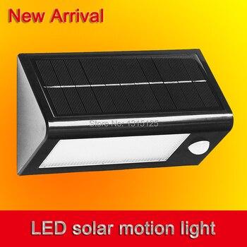 2014 New 32 LEDS LED Solar Powered Motion Sensor Garden light Lamp Outdoor Waterproof solar Lights free shipping