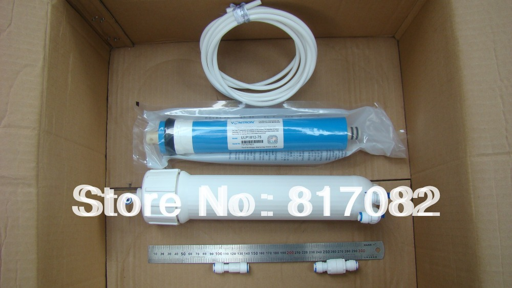 Water Treatment Appliances Punctual 3x13 Ro Membrane Housing And75 Gpd Ro Membrane And All Accessories Ulp1812-75 For Water Filter Free Shipping