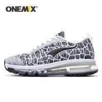 ONEMIX 2019 nouveaux hommes chaussures de course respirant amortissement coussin d'air en plein Air marche hommes baskets athlétiques Jogging Trekking chaussures