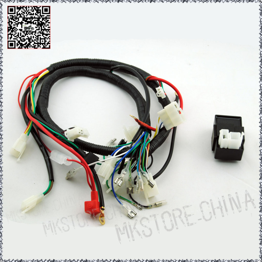 small resolution of 250cc cdi quad wiring harness 200 250cc chinese electric start for loncin zongshen ducar lifan free shipping