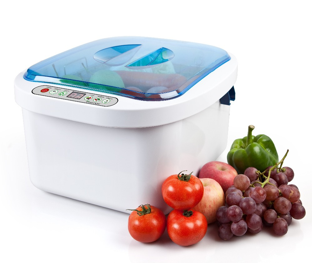 все цены на Ultrasonic cleaner with ozone sterilizer 12.8L for fruit and vegetable, dinner dish, baby items cleaning KD-6002 онлайн