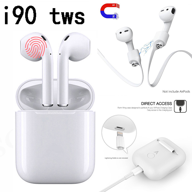 I90 <font><b>Tws</b></font> 2019 Wireless Bluetooth earphones pk i10 i12 i13 i14 i20 i30 i60 i80 i70 i77 i90 i100 <font><b>i</b></font> 10 12 <font><b>14</b></font> 20 30 60 70 80 90 100 image
