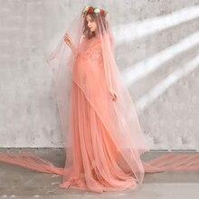 Sleeveless Voile Maternity Dress