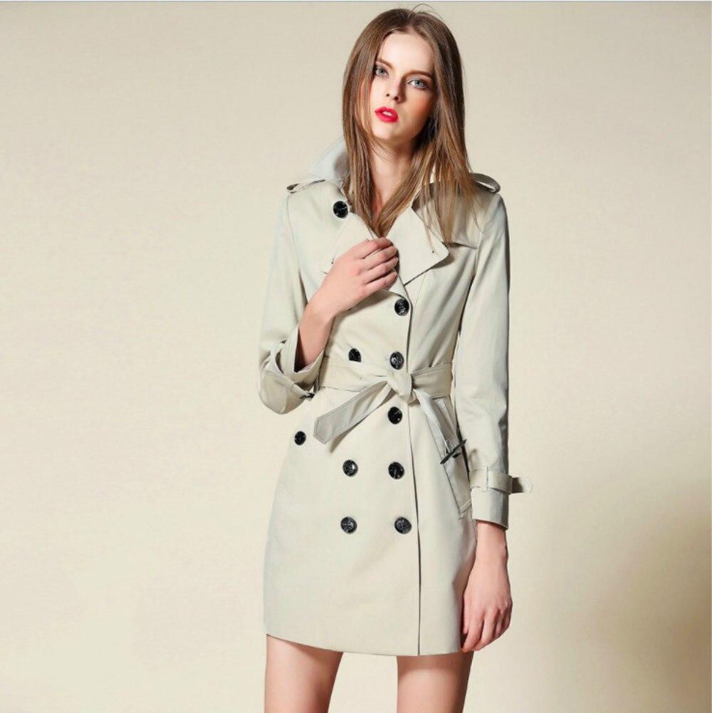 מסלול גשם נשים באיכות גבוהה כפתורים - בגדי נשים