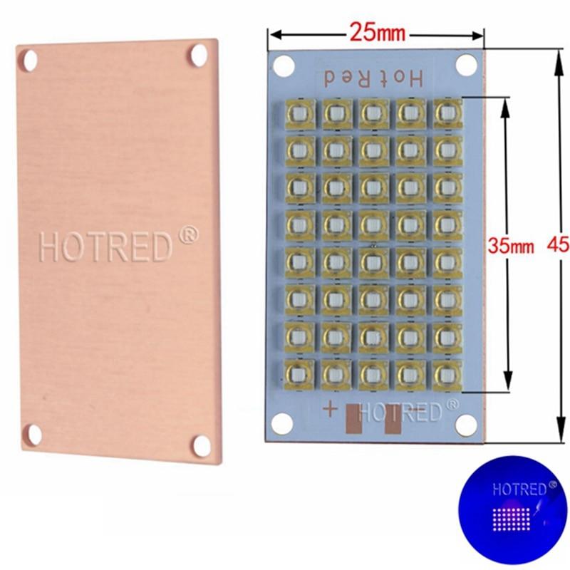 New 50W 100W 120W Genesis UV 395nm 400nm COB Bulbs LED Chip Diode purple Ultra Violet light uv glue curing light ink,3D printer цена