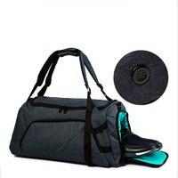 45L 新スタイル男性ジムバッグ 2018 大容量旅行バッグ防水テリレンフィットネスバッグ屋外トレーニング荷物バックパック