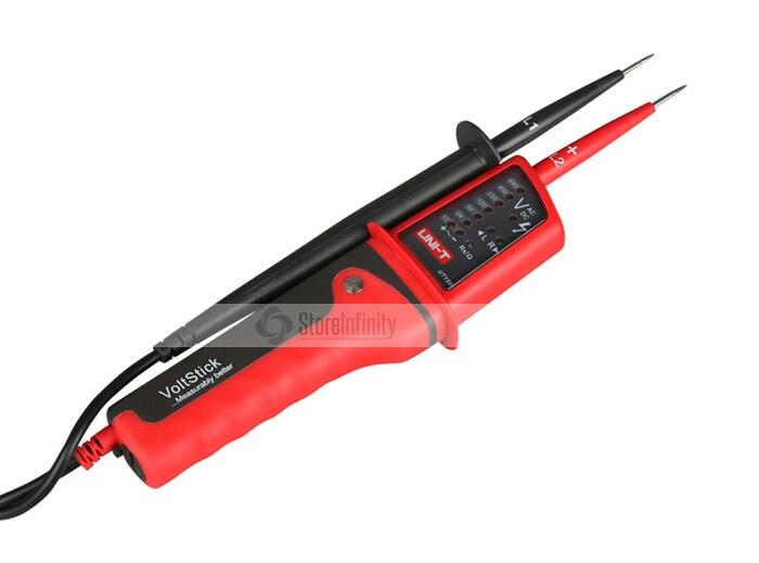 UNI T UT15B Waterproof Multi function Voltage Detectors Volt Testing Pen AC DC Voltmeter Beeper and LED Light Indicator|dc voltmeter|pen actest pen - title=