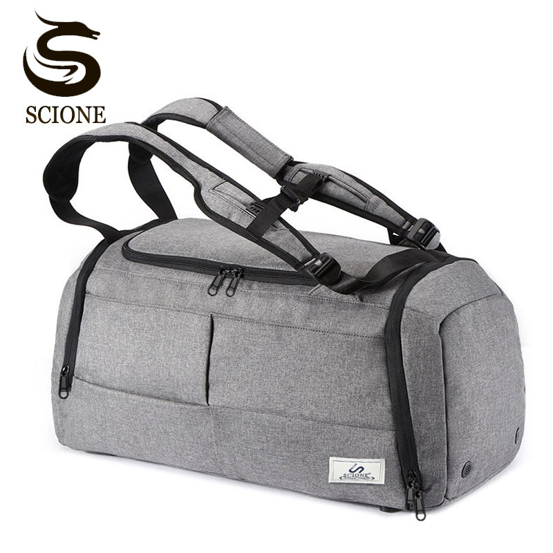 Multifunction Men Travel Bags Anti Theft Male Bag Portable Travel Duffel Bags for Man Large Capacity Shoulder Handbag Back Pack 4