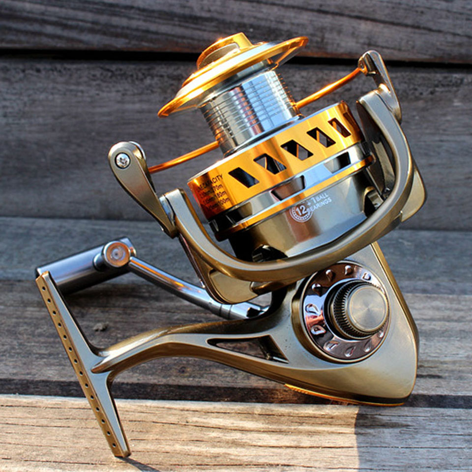 Fishing spinning reel 8000 & 9000 12+1BB saltwater high-profile upscale boutique spinning reel ocean fishing reels rover drum saltwater fishing reel pesca 6 2 1 9 1bb baitcasting saltwater sea fishing reels bait casting surfcasting drum reel