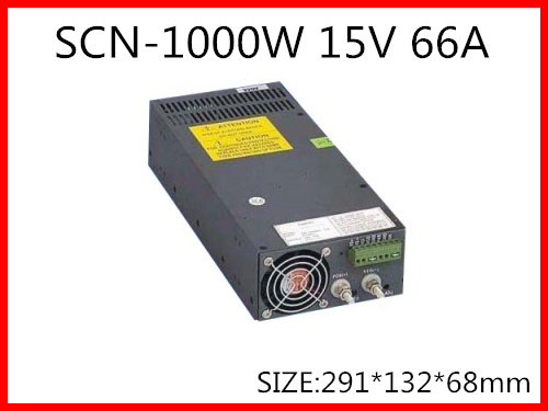 1000W 15V 66A Single Output Switching power supply for LED Strip light AC DC S 1000 15