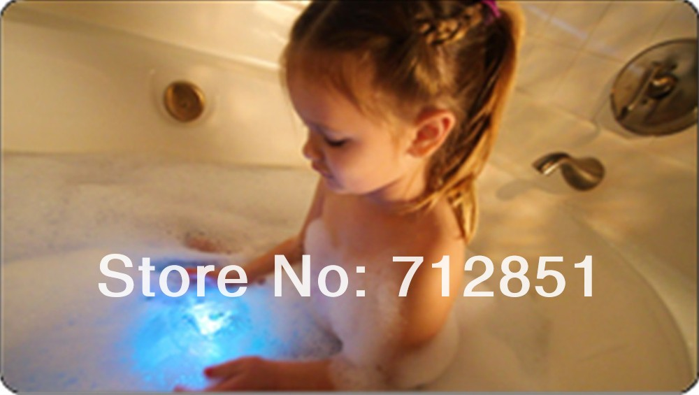 W Party In The Tub Light Fun Bath Time LED Light Show Kid Toy AS ...