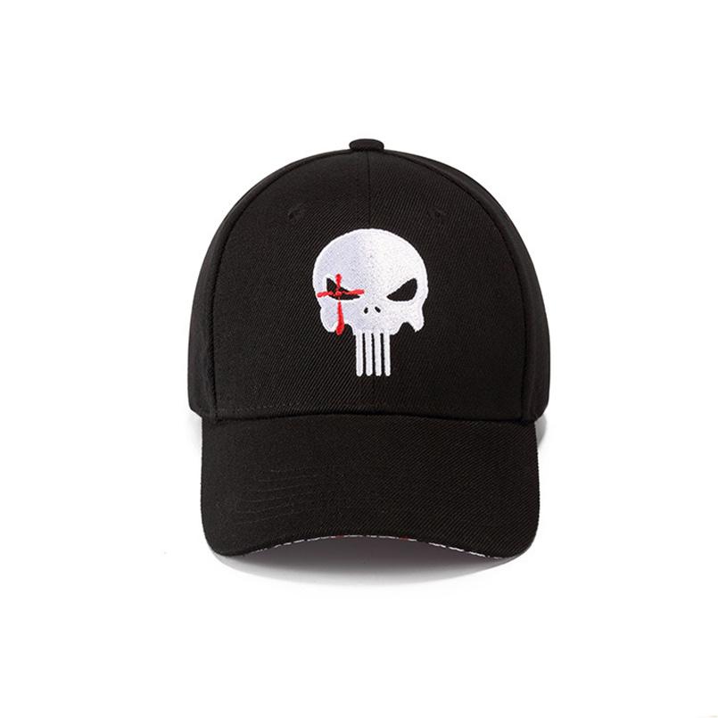 c88e624b8 US $7.98 39% OFF|EAGLEBORN Navy Seal Men's Hats and Caps Embroidered Hero  US Punisher SKULL Logo Baseball Cap Snapback Hats Casual Visor Cap hats-in  ...