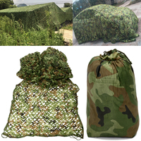 Oxford Fabric 10x1.5m Sunshade Cloth Canopy Shelter Camo Net Camouflage Netting Hunting/Camping Hide Patio Garden Decoration